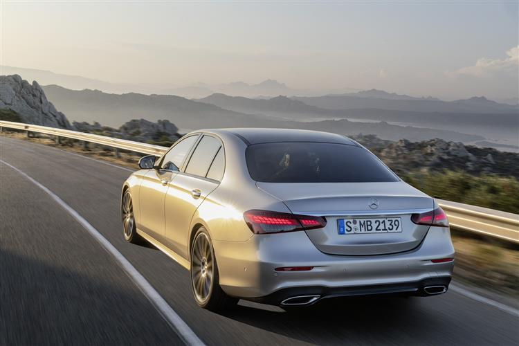 MERCEDES-BENZ E CLASS SALOON AMG Line Night Edition