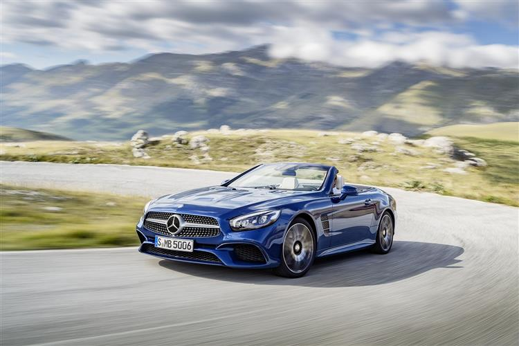 MERCEDES-BENZ SL CONVERTIBLE Grand Edition